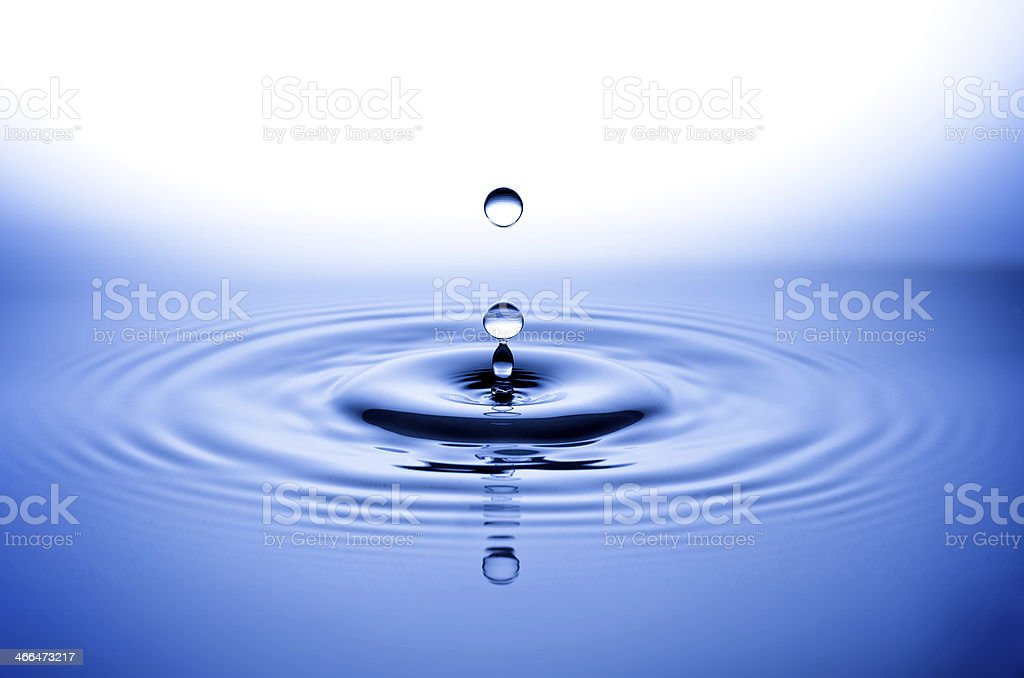 Wassertropfen, Tropfen, Water Drop stock photo