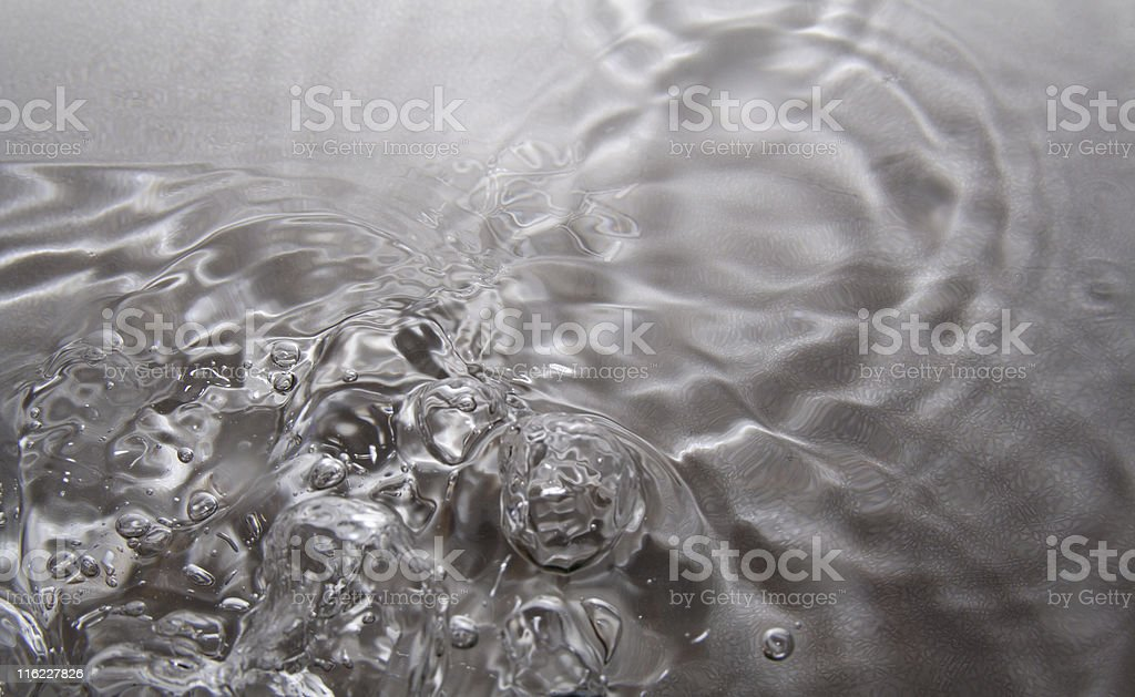 Water Drops Patterns royalty-free stock photo