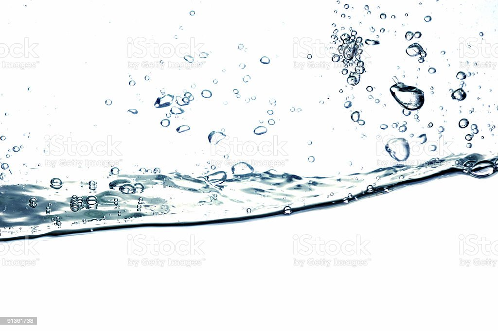 water drops #34 royalty-free stock photo
