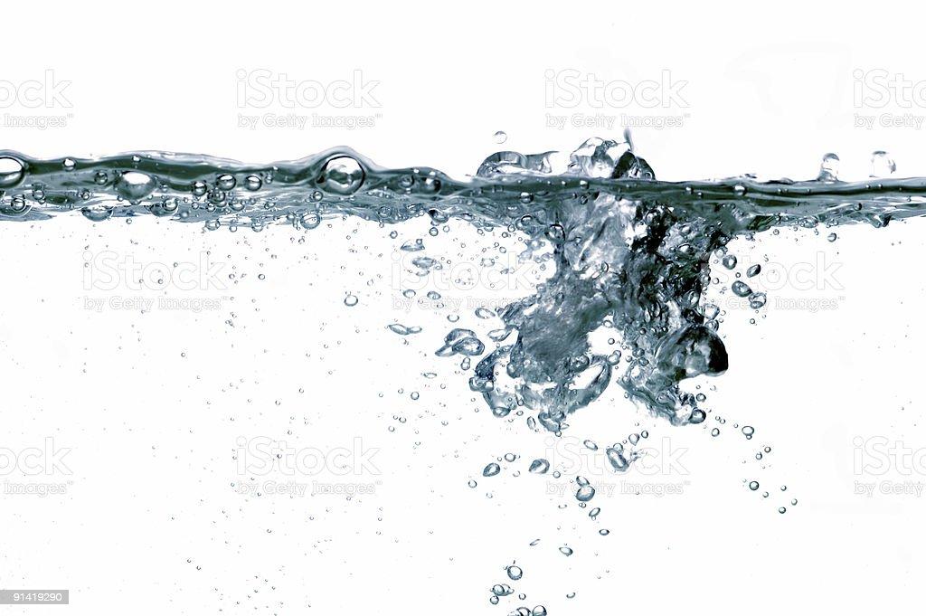 water drops #33 royalty-free stock photo