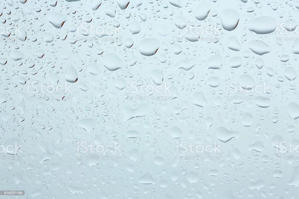 Water Drops Rain Drops Background. stock photo