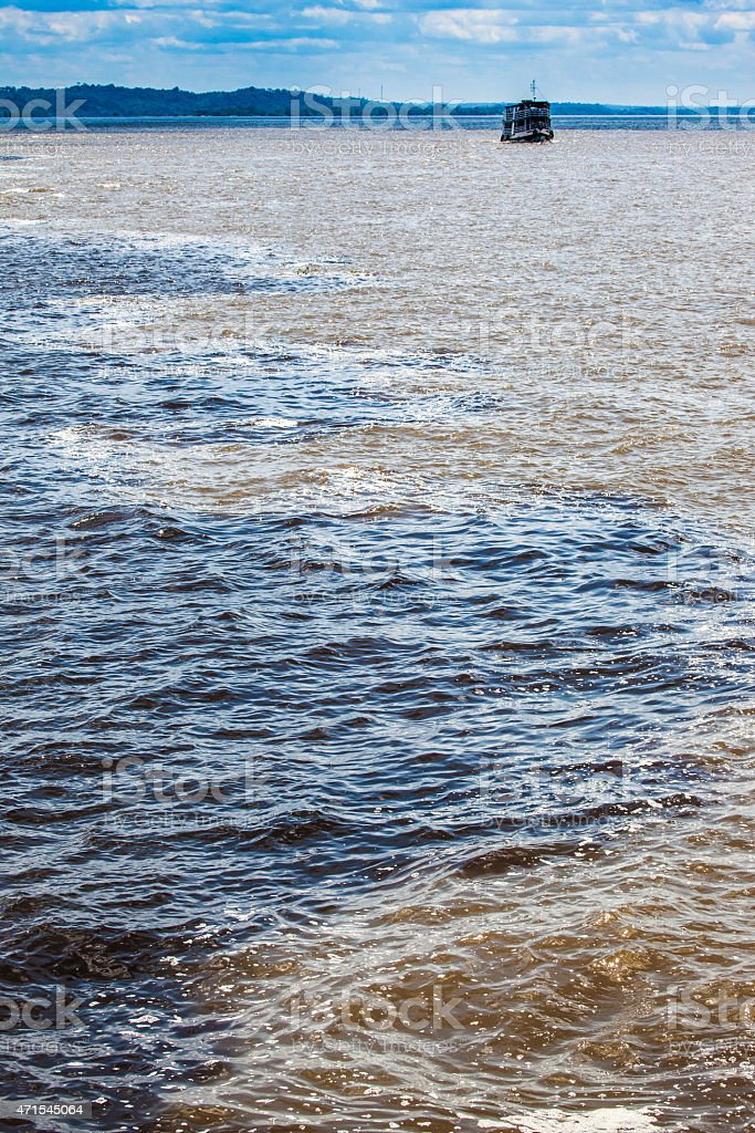 water  encounter stock photo