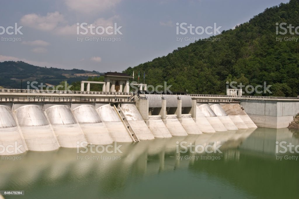Water energy stock photo
