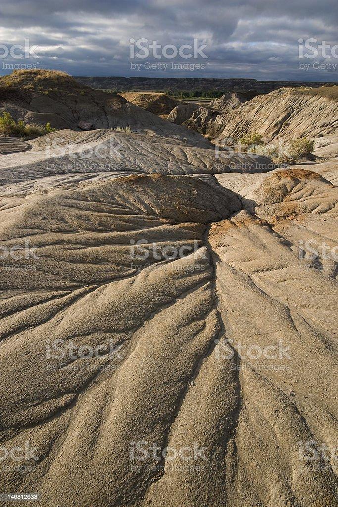 water erosion pattern stock photo