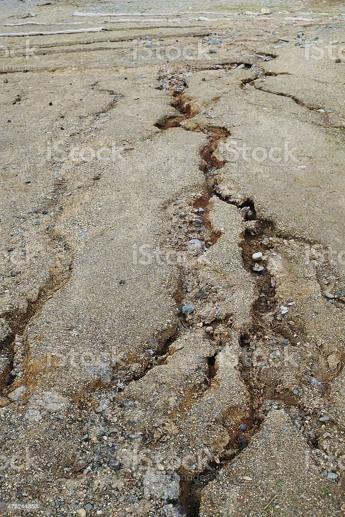 Water Erosion royalty-free stock photo