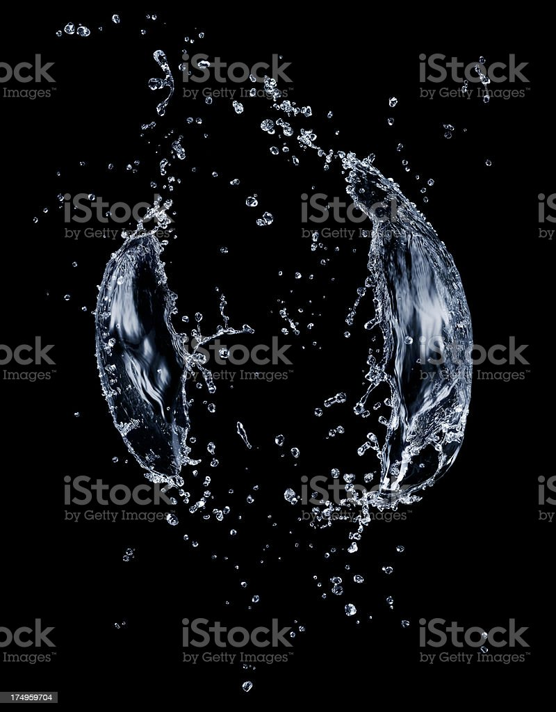 Water Explosion royalty-free stock photo