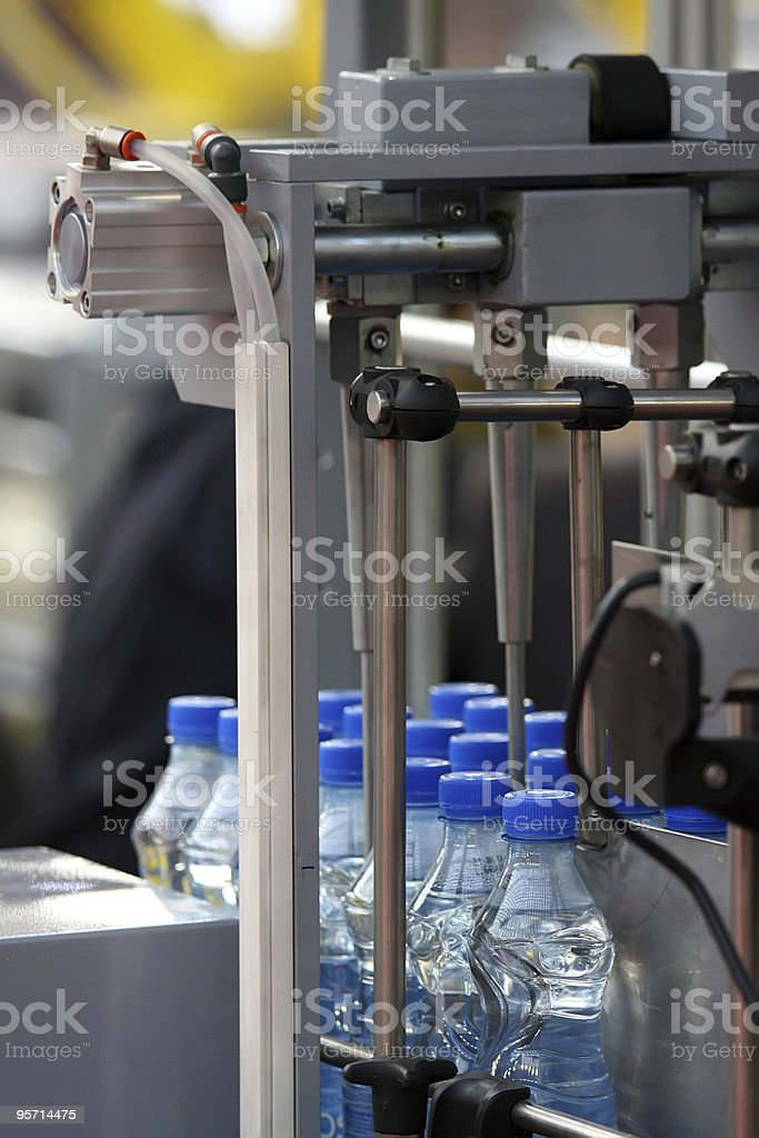 Water factory royalty-free stock photo
