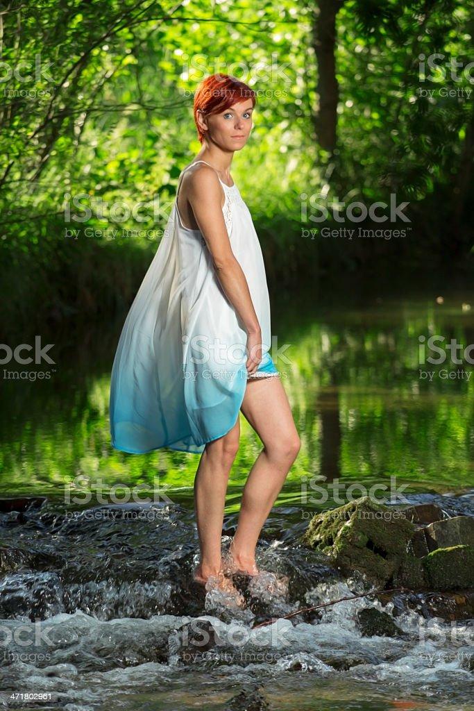 Water fairy royalty-free stock photo