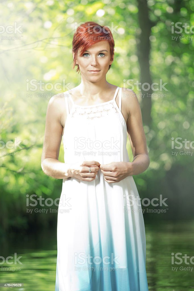 Water fairy royalty-free stock photo