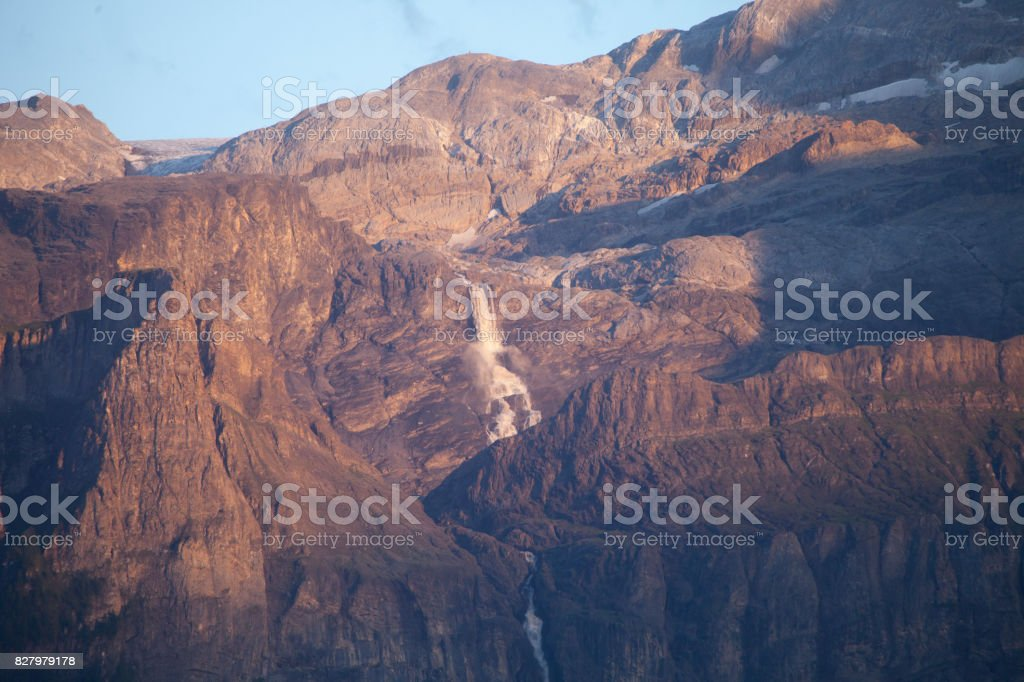 Water Fall in Afternoon stock photo