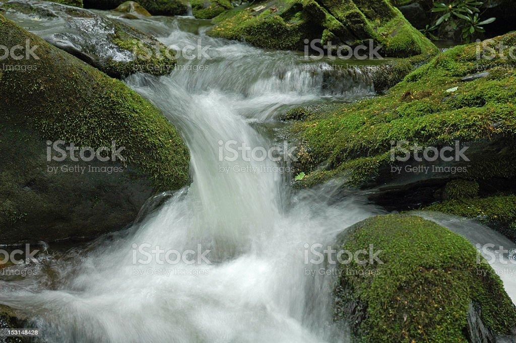 Water Fall royalty-free stock photo