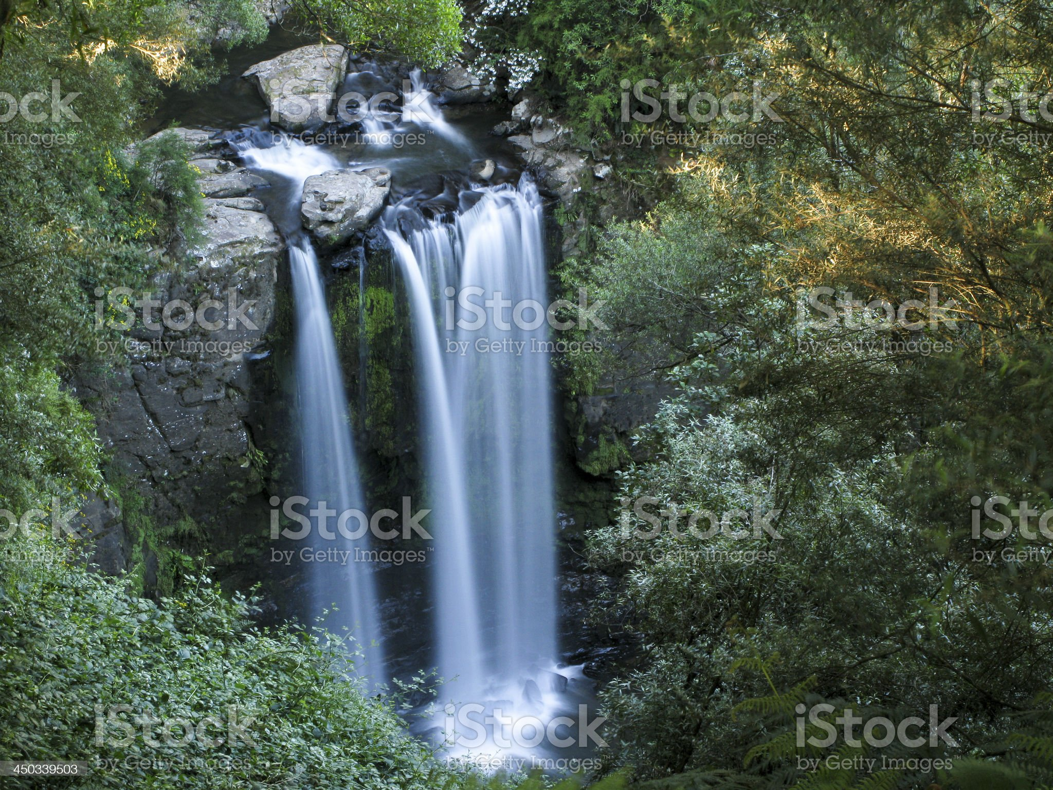 water fall royalty-free stock photo