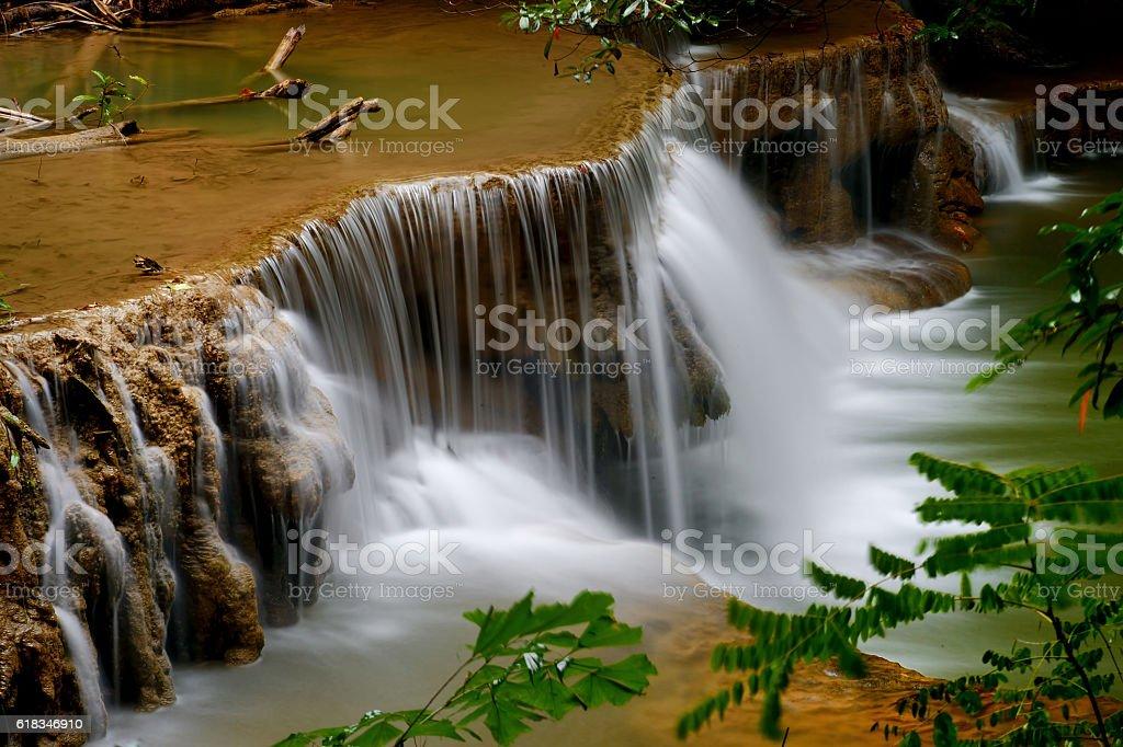 water fall stock photo