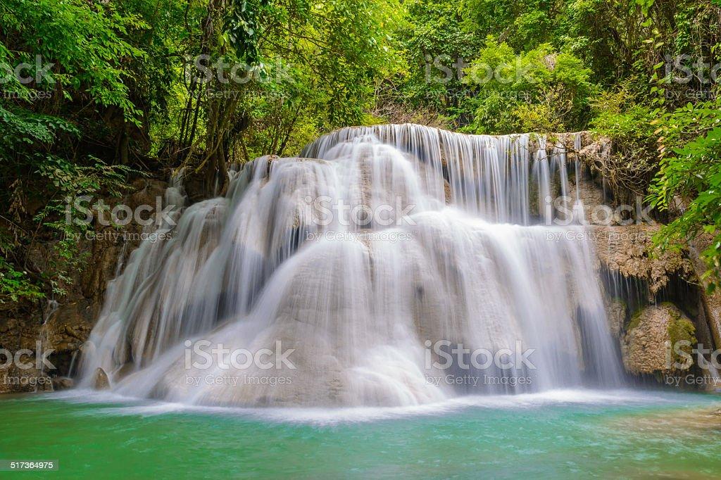 Water falls Nationpark stock photo
