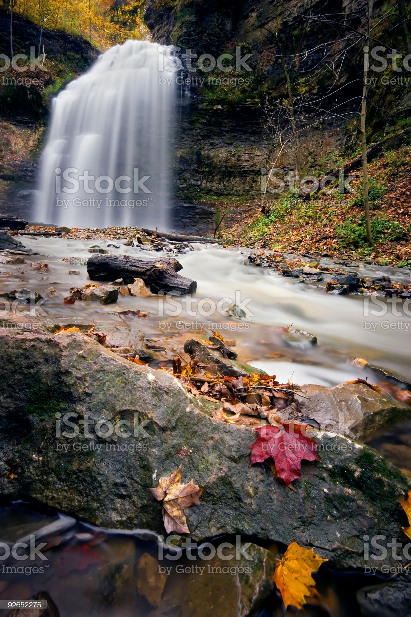Water Falls royalty-free stock photo