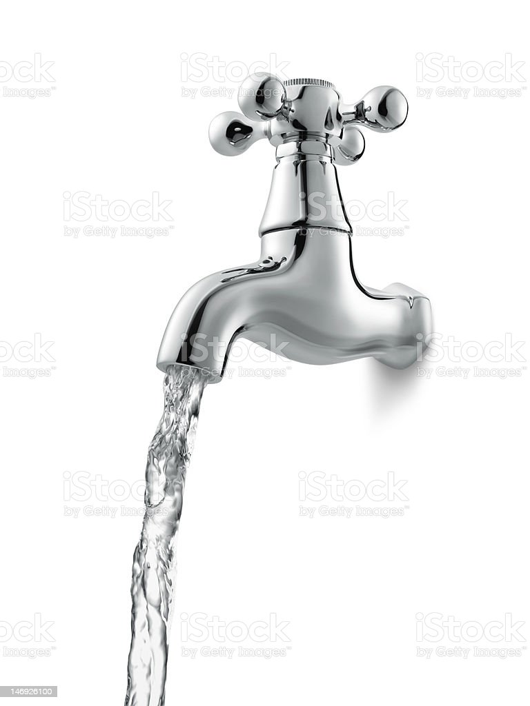 water faucet stock photo