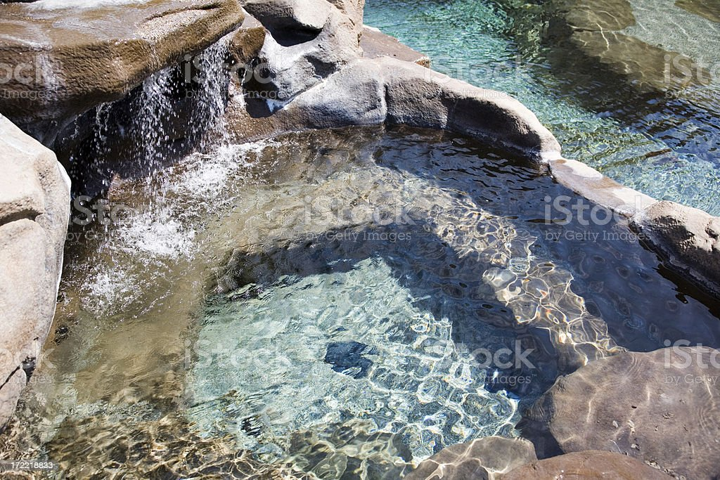 Water Feature Landscape royalty-free stock photo