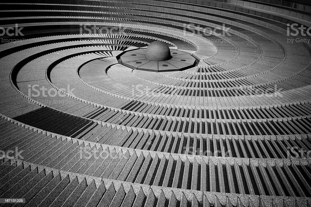 water feature. royalty-free stock photo