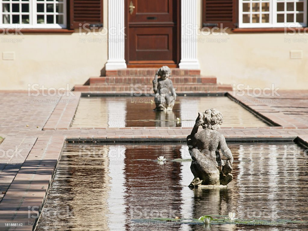Water Feature royalty-free stock photo