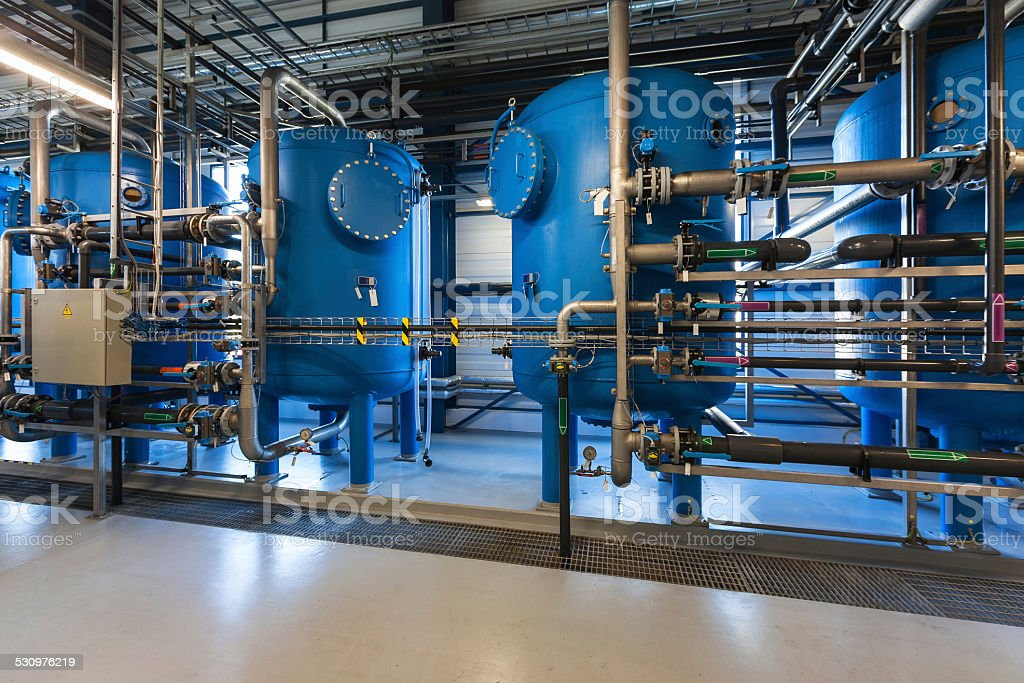 Water filters stock photo