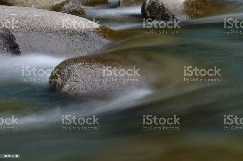 water flow in Taroko stock photo