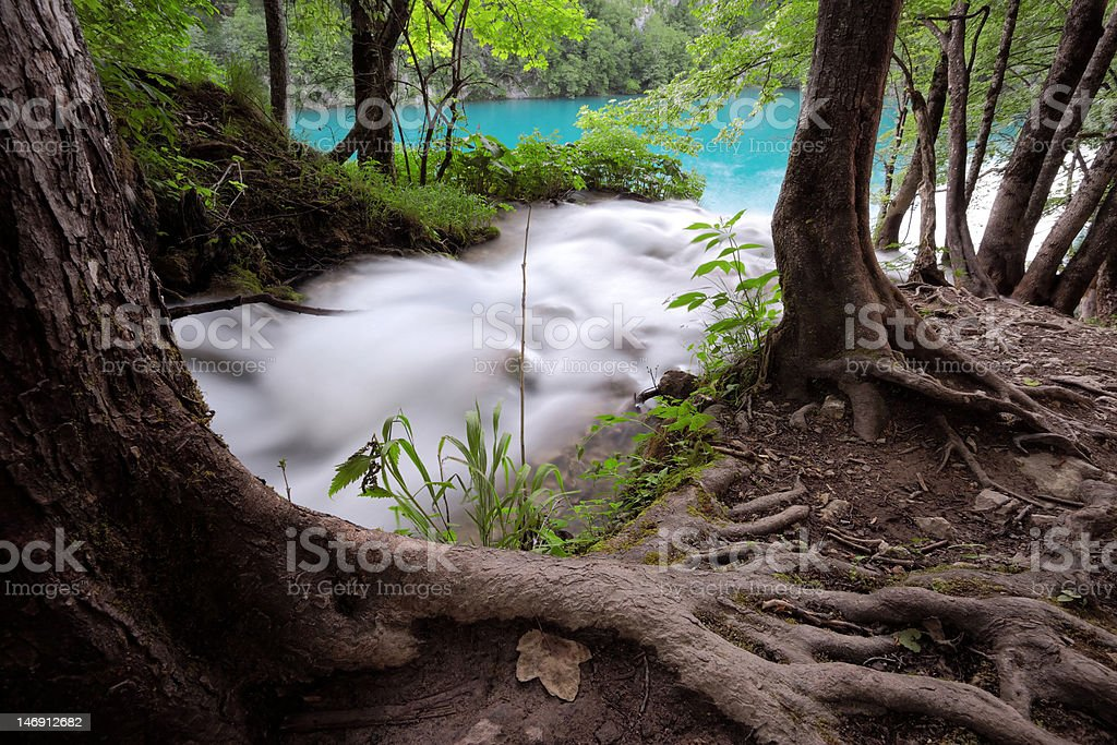water flow royalty-free stock photo