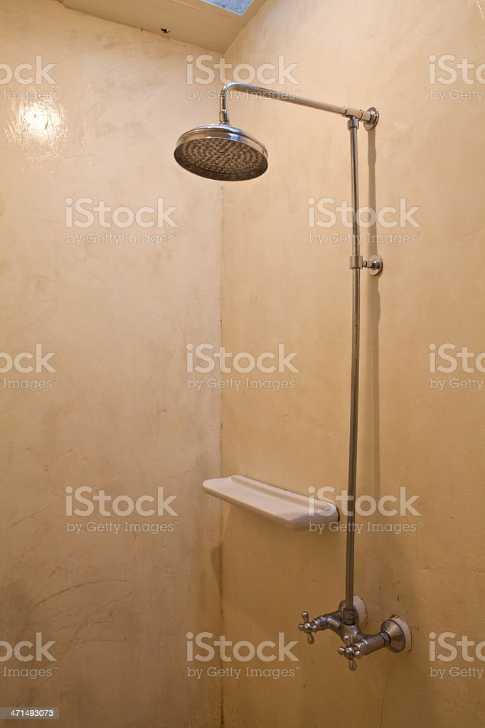 Water flowing royalty-free stock photo