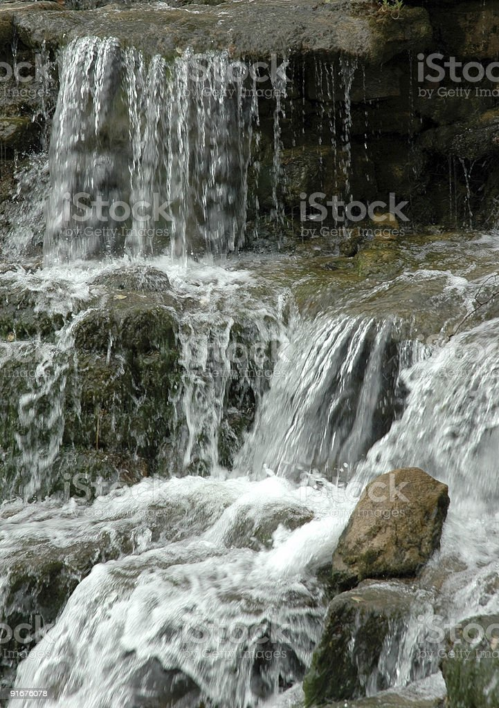 Вода течет Стоковые фото Стоковая фотография