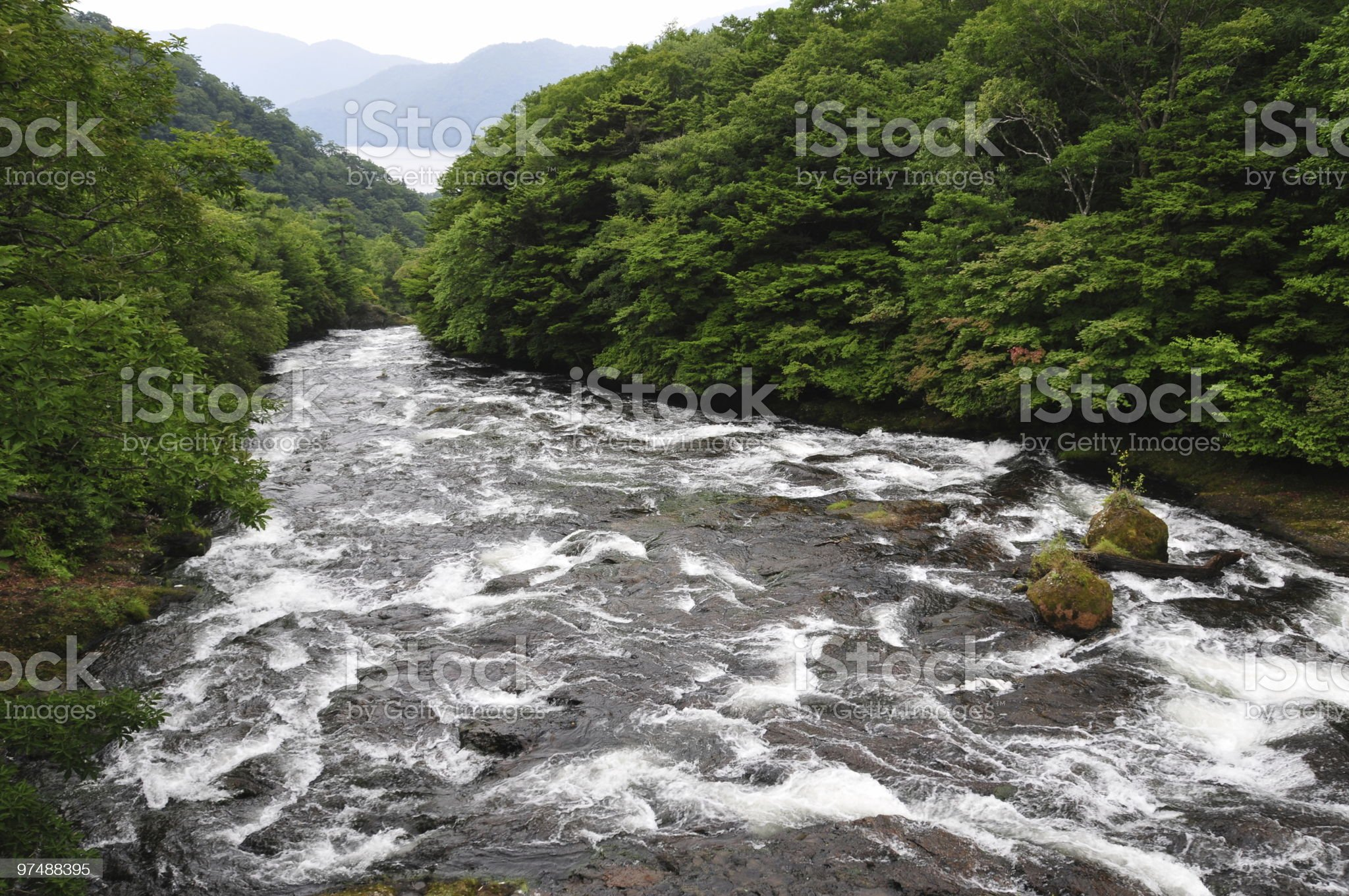 Water Flows to the Sea royalty-free stock photo