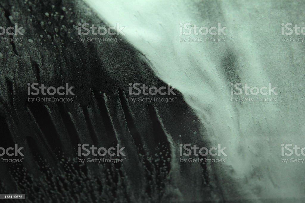 Water Foam royalty-free stock photo
