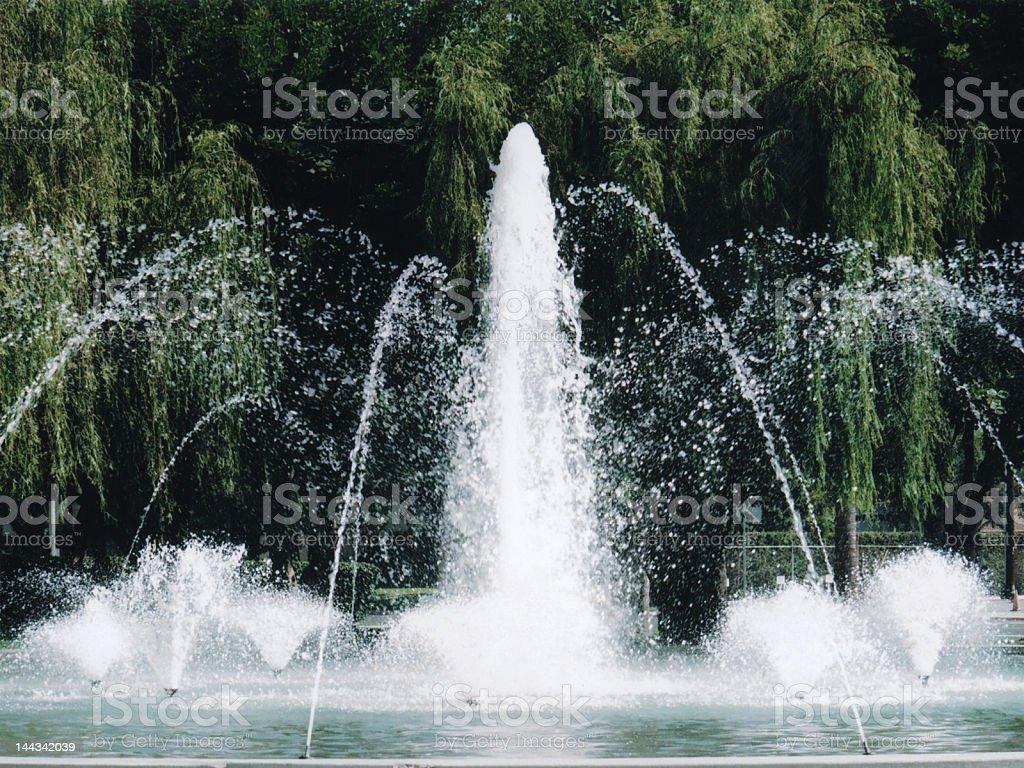 Fontaine à eau photo libre de droits