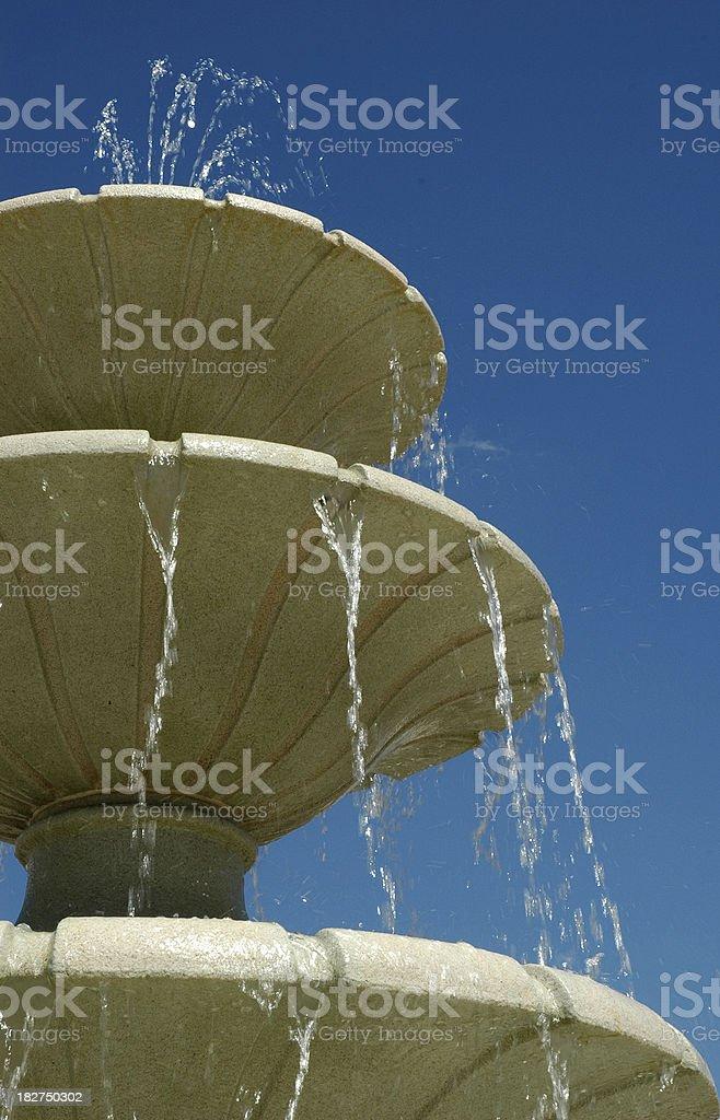 Фонтан воды Стоковые фото Стоковая фотография