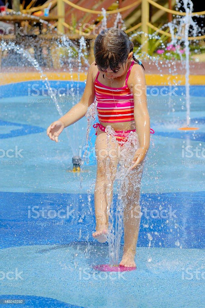 Water fun royalty-free stock photo