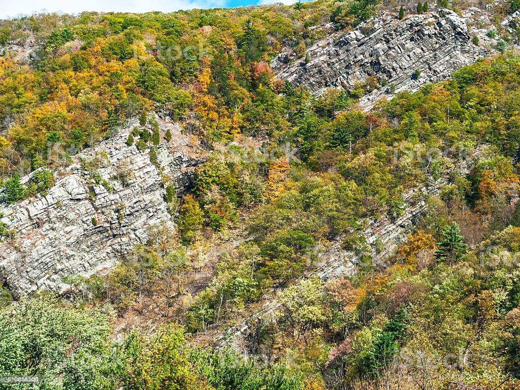 Water Gap Cliffs stock photo