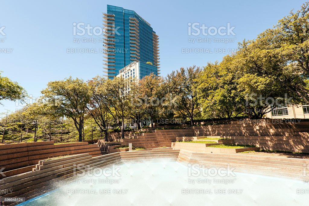 Dallas, Famous Place, Fort Worth, Fountain, Gulf Coast States. Water Gardens  ...