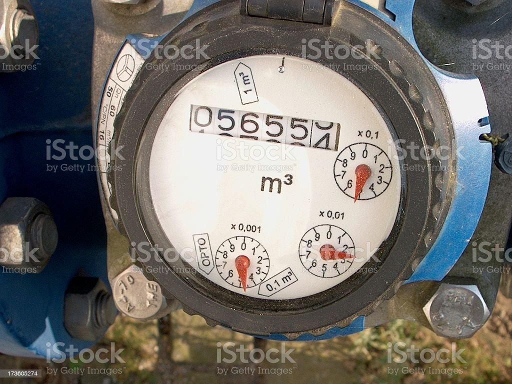 water gauge royalty-free stock photo