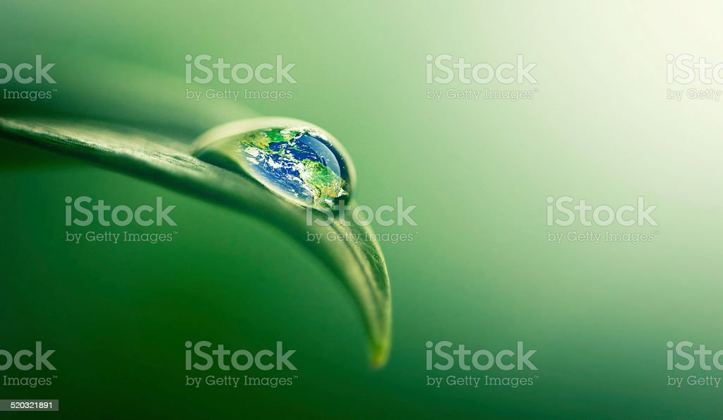 Water gives life stock photo