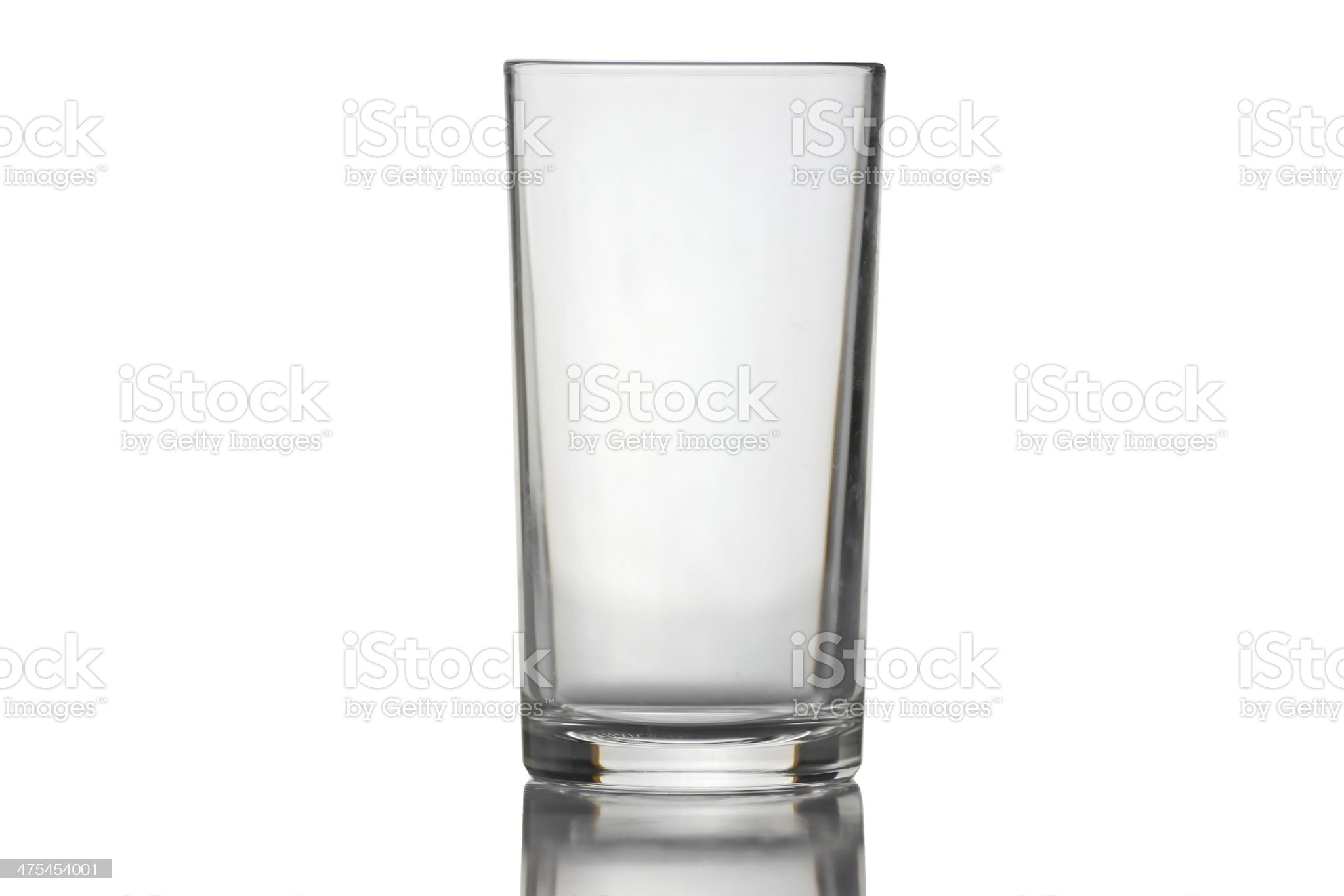 Water glass isolated. royalty-free stock photo