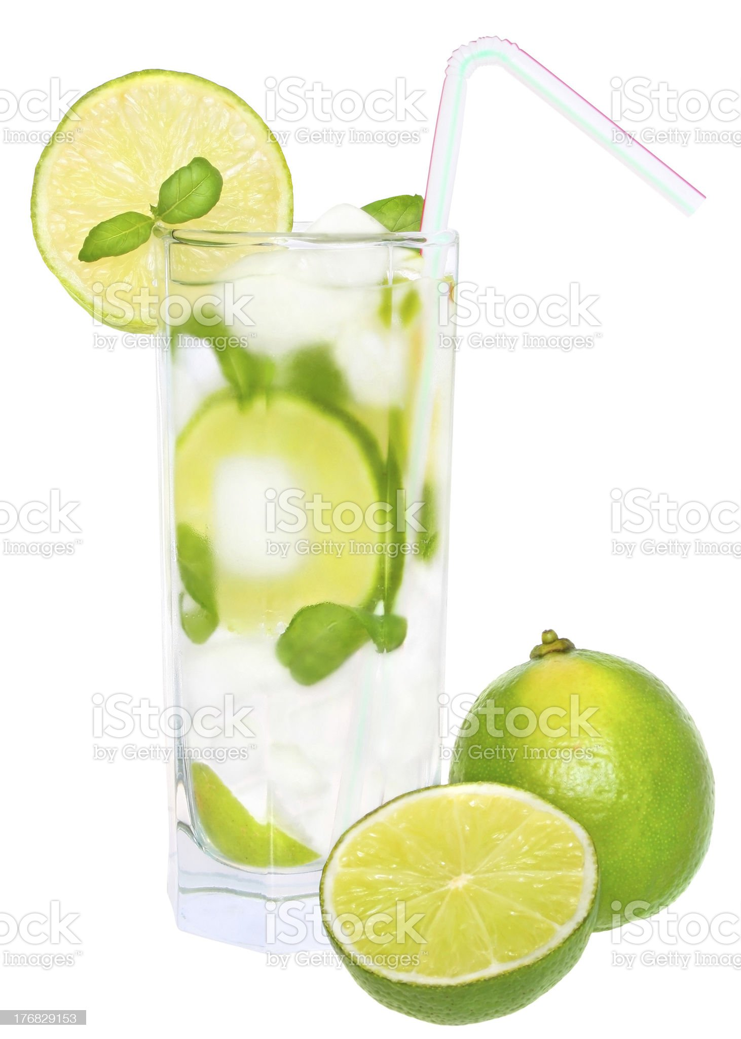 Water glass. royalty-free stock photo