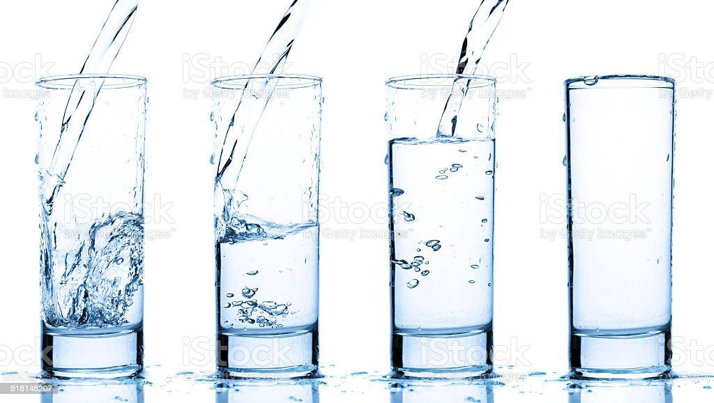 water glass stock photo