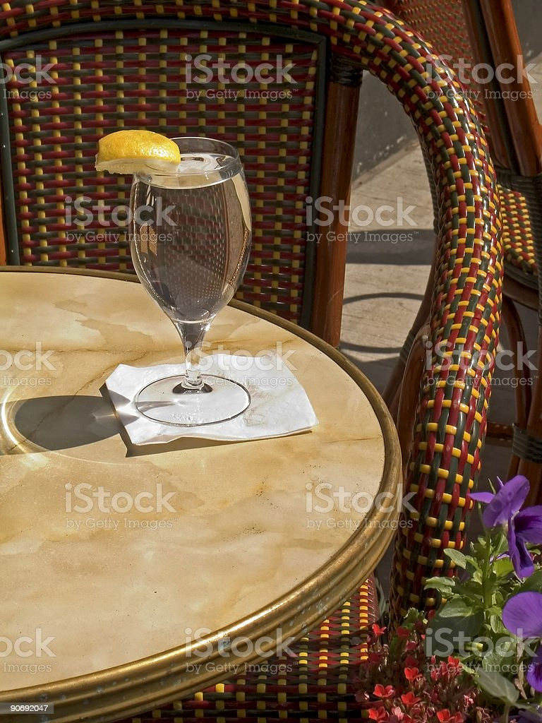 Water Glass royalty-free stock photo