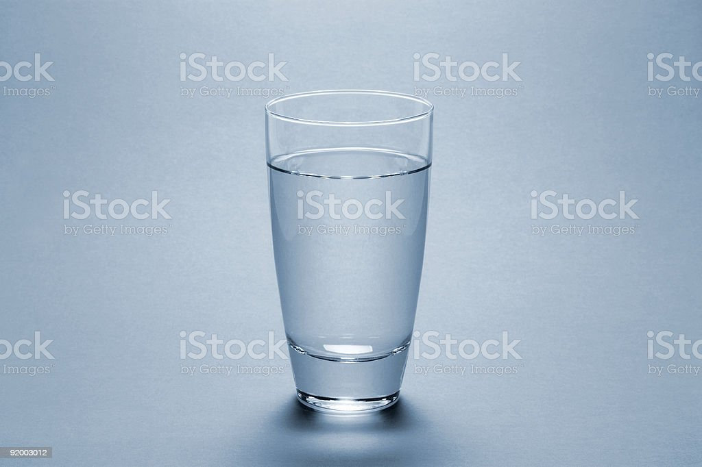Water Glass (FULL) royalty-free stock photo