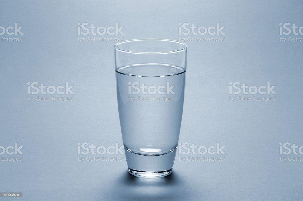 Water Glass (FULL) stock photo