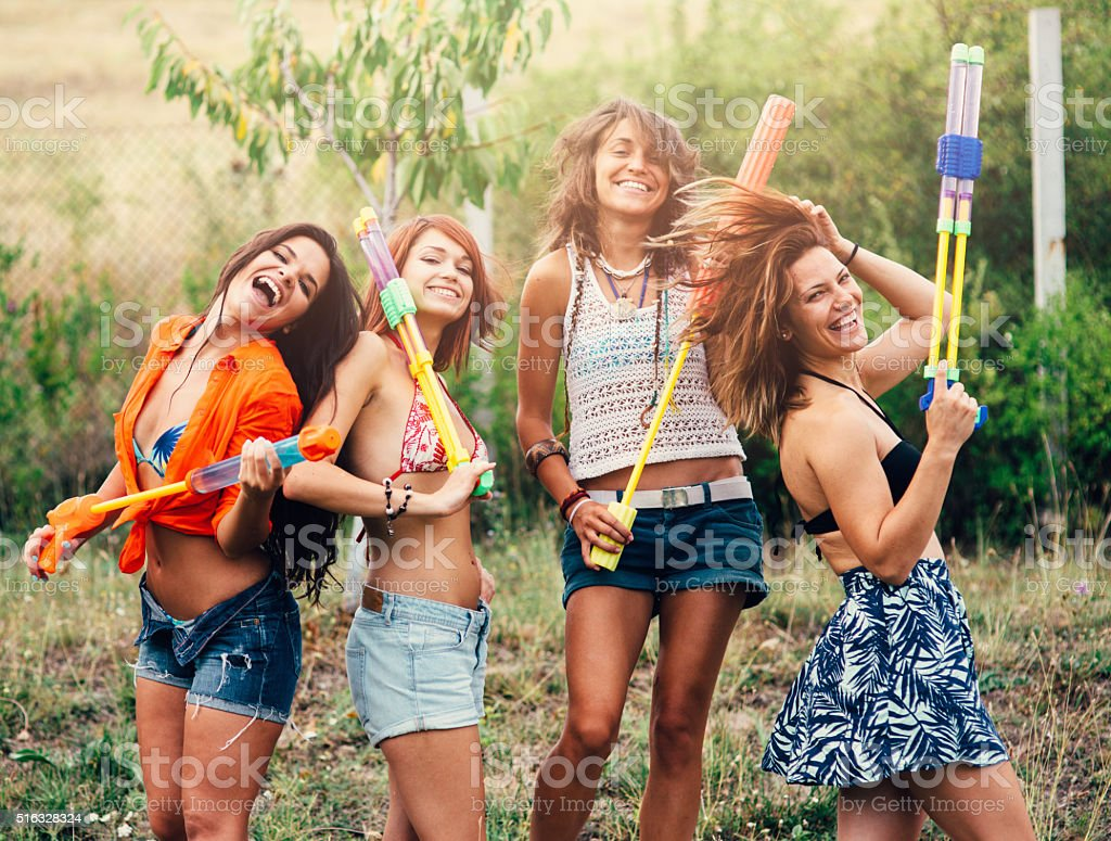 Water Guns stock photo