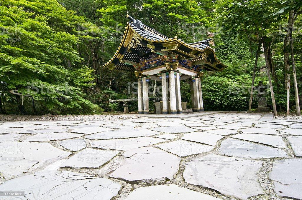 Water House, Nikko, Japan stock photo