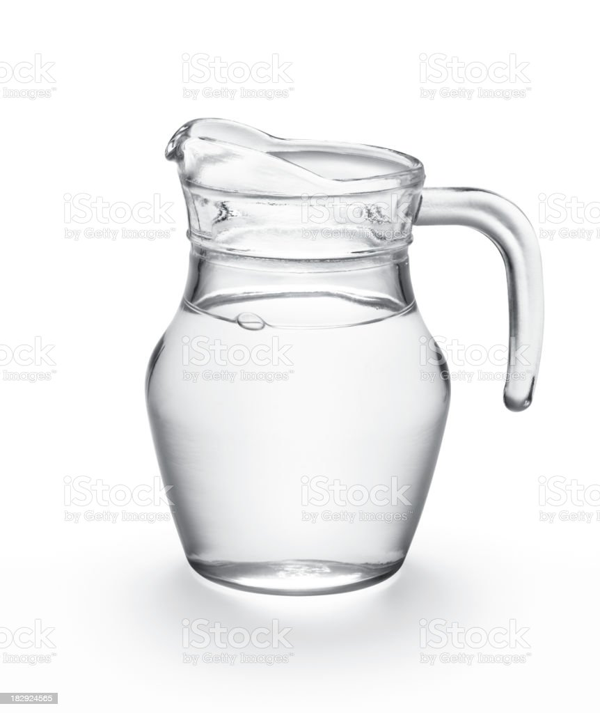 water in jug stock photo