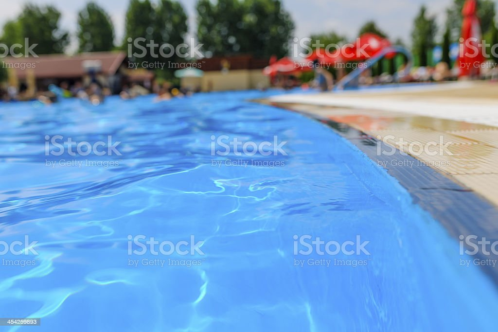 water in pool royalty-free stock photo