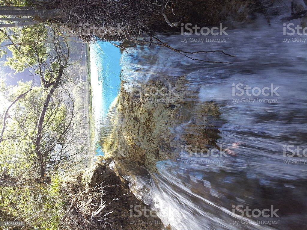 water in wood royalty-free stock photo