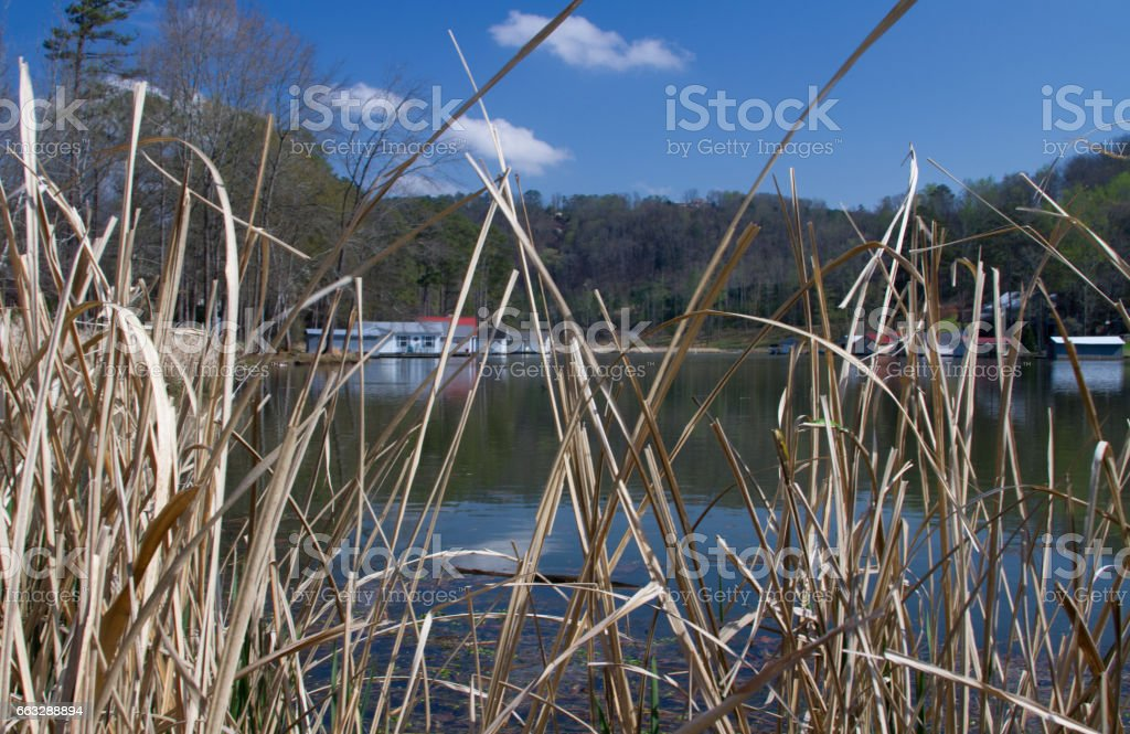 Water inlet stock photo