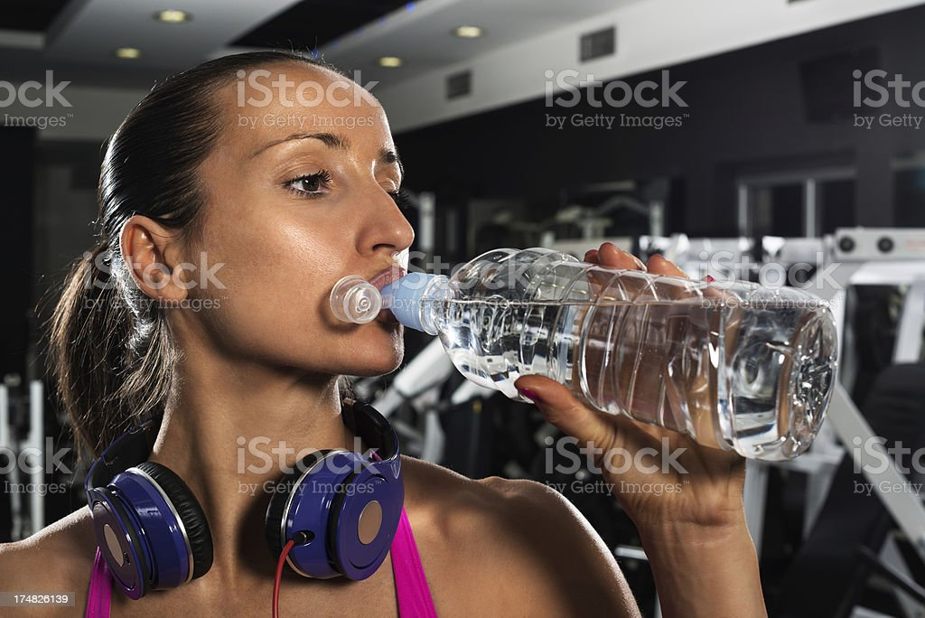 Water intake royalty-free stock photo